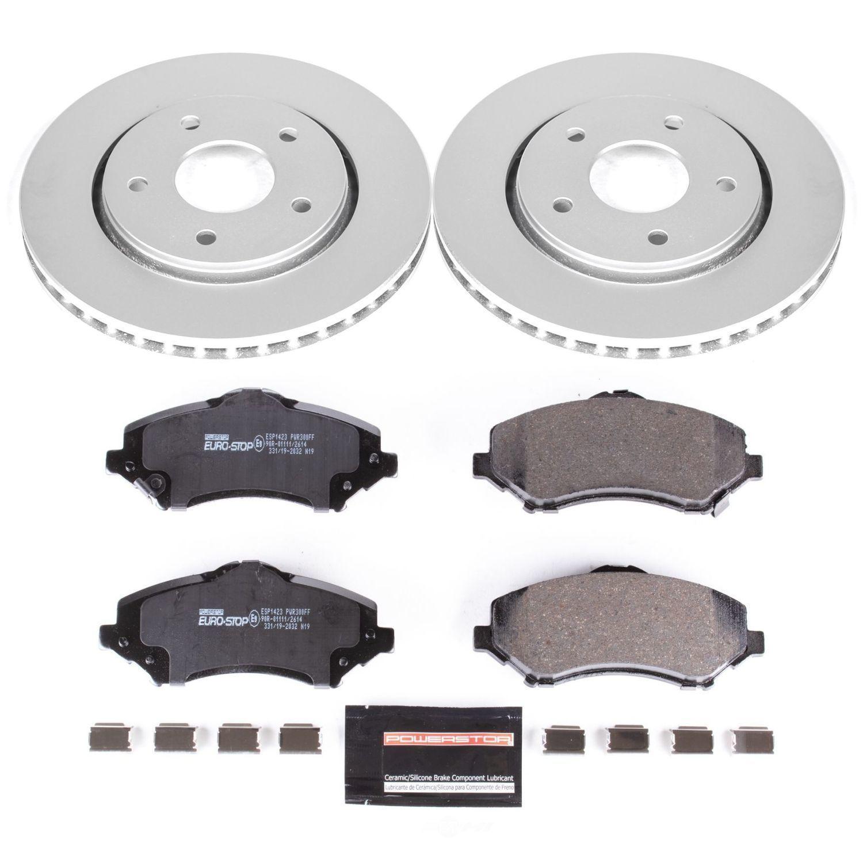 POWER STOP - EuroStop Premium Brake Kit (Front) - PWS ESK3118