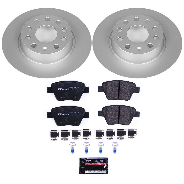 POWER STOP - EuroStop Premium Brake Kit (Rear) - PWS ESK5667