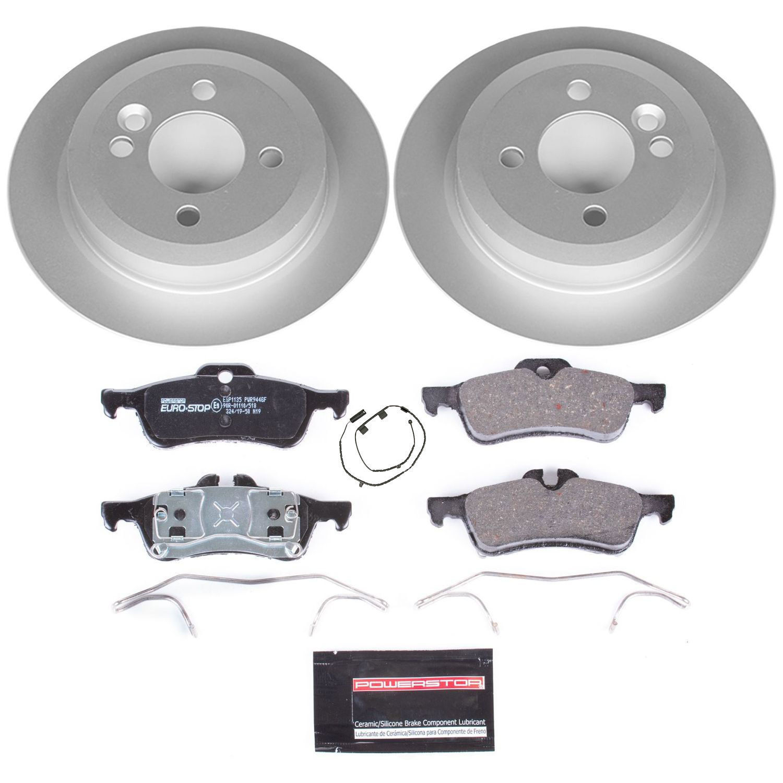 POWER STOP - EuroStop Premium Brake Kit (Rear) - PWS ESK5726