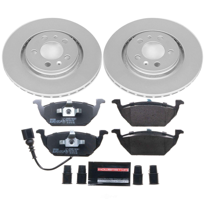 POWER STOP - Euro-Stop ECE-R90 Certified Brake Kit - PWS ESK839