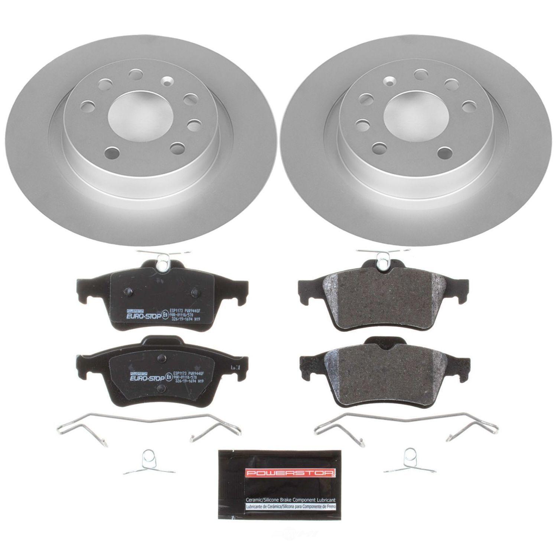 POWER STOP - EuroStop Premium Brake Kit (Rear) - PWS ESK981