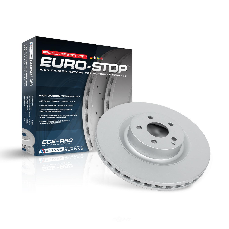 POWER STOP - Power Stop - Rear Genuine Geomet High Carbon Coated Rotor - PWS EBR1056EVC