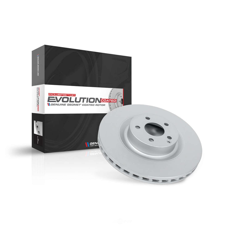 POWER STOP - Power Stop - Rear Genuine Geomet Coated Rotor - PWS JBR774EVC