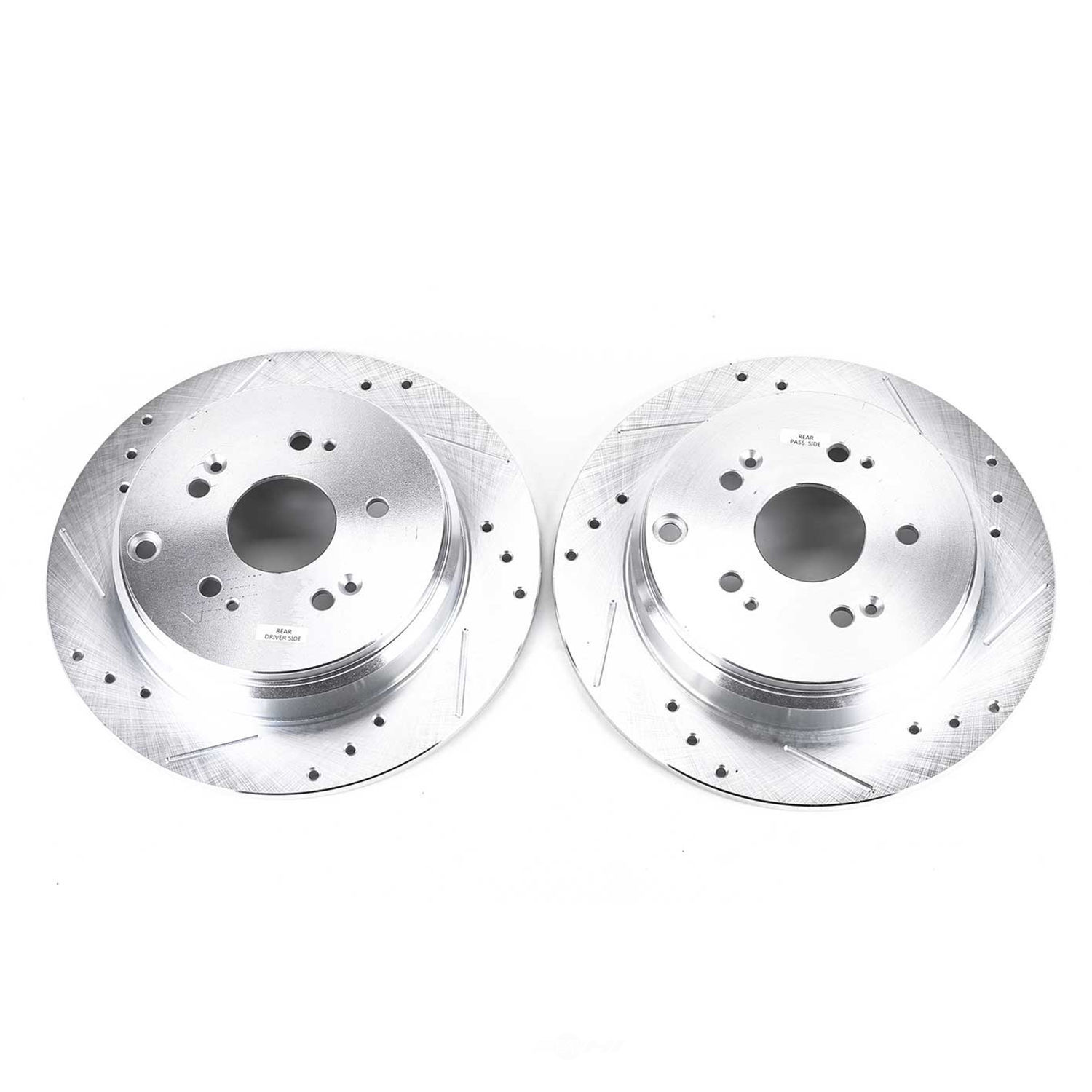 POWER STOP - Extreme Performance Drilled & Slotted Brake Rotor (Rear) - PWS JBR1158XPR