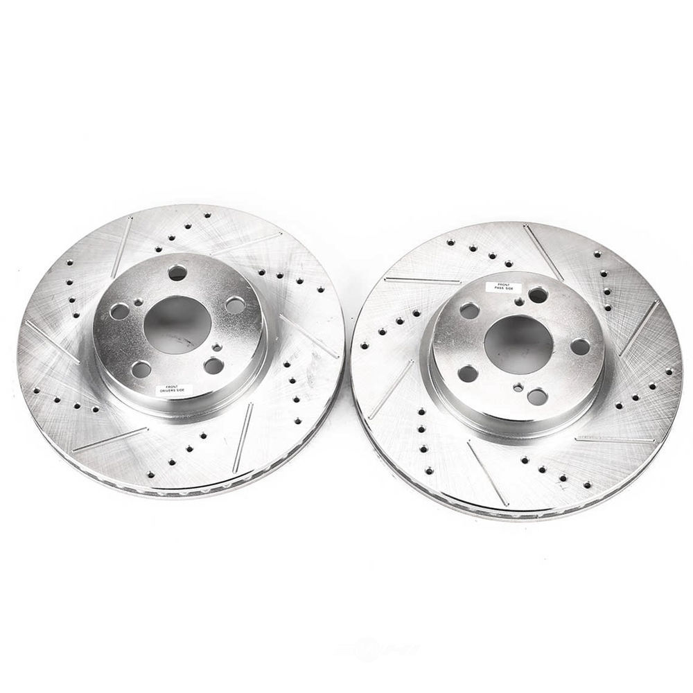 POWER STOP - Extreme Performance Drilled & Slotted Brake Rotor (Front) - PWS JBR1311XPR