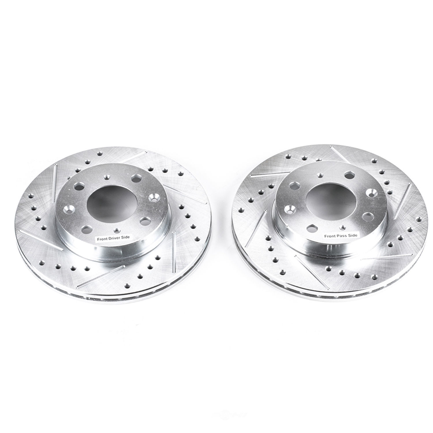 POWER STOP - Extreme Performance Drilled & Slotted Brake Rotor (Front) - PWS JBR304XPR