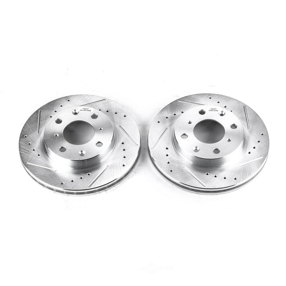 POWER STOP - Extreme Performance Drilled & Slotted Brake Rotor - PWS JBR525XPR