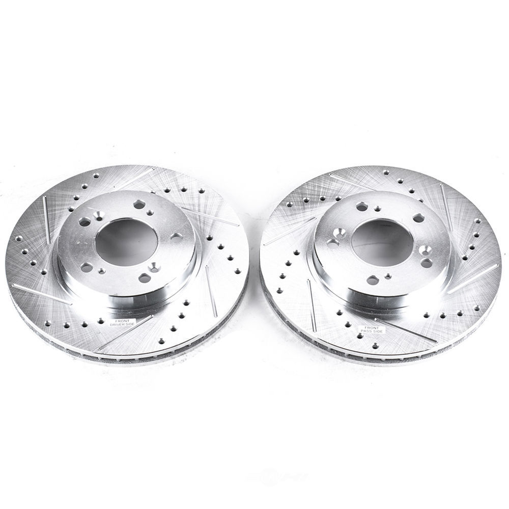 POWER STOP - Extreme Performance Drilled & Slotted Brake Rotor (Front) - PWS JBR528XPR