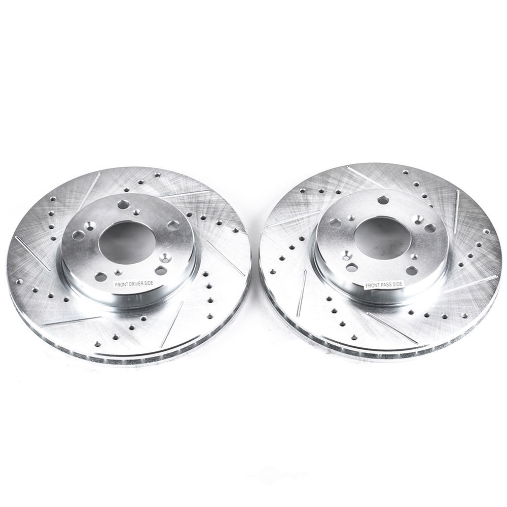 POWER STOP - Extreme Performance Drilled & Slotted Brake Rotor (Front) - PWS JBR709XPR