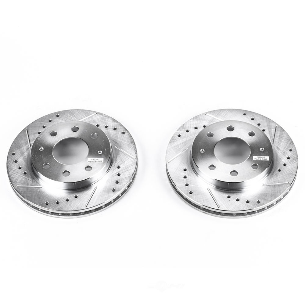 POWER STOP - Extreme Performance Drilled & Slotted Brake Rotor (Front) - PWS JBR722XPR