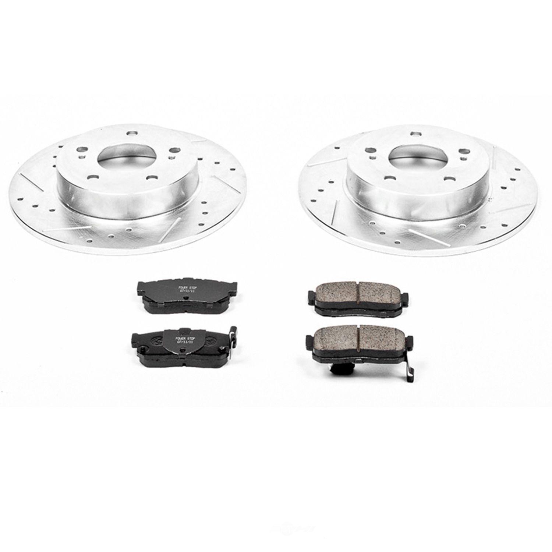 POWER STOP - Z23 Evolution Sport Performance 1-Click Brake Kit (Rear) - PWS K1168