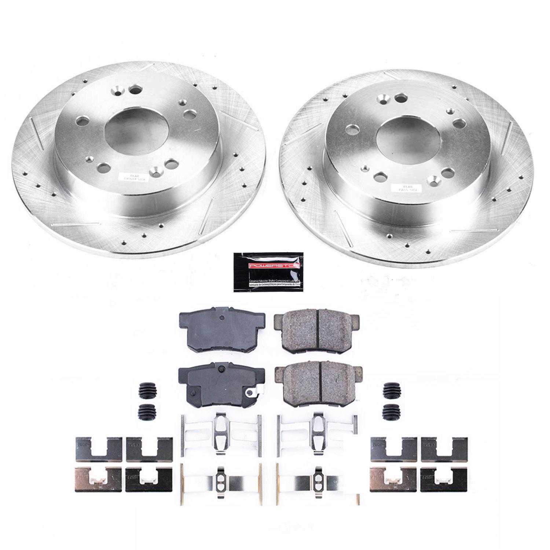 POWER STOP - Z23 Evolution Sport Performance 1-Click Brake Kit (Rear) - PWS K1243