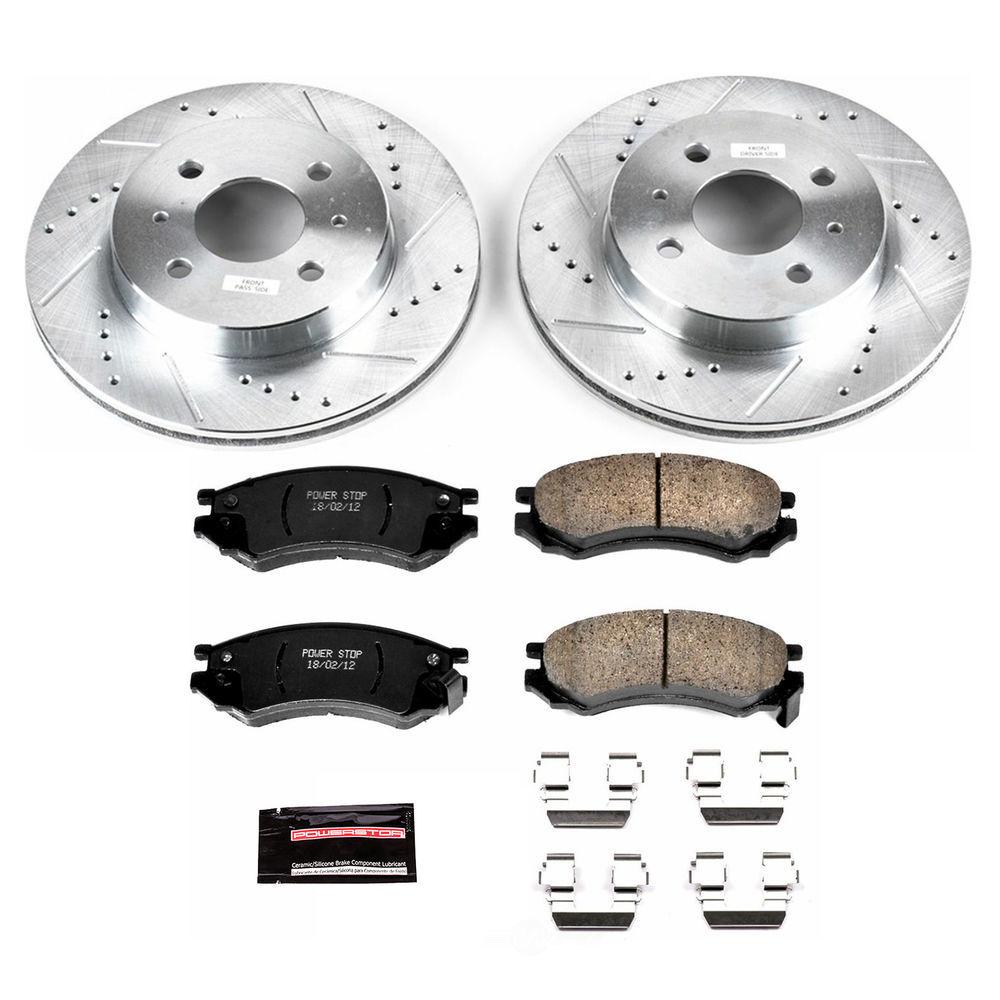 POWER STOP - Z23 Evolution Sport Performance 1-Click Brake Kit (Front) - PWS K1515