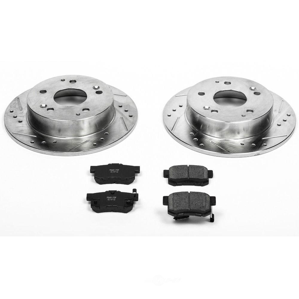 POWER STOP - Z23 Evolution Sport Performance 1-Click Brake Kit (Rear) - PWS K2270