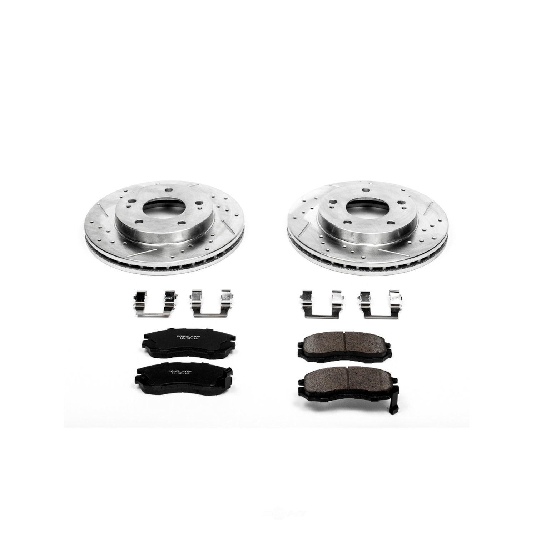 POWER STOP - Z23 EvolutionSport Brake Upgrade Kit - PWS K681