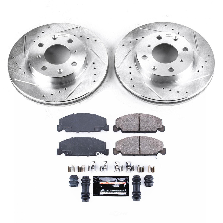 POWER STOP - Z23 Evolution Sport Performance 1-Click Brake Kit (Front) - PWS K699