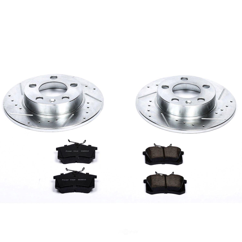 POWER STOP - Z23 Evolution Sport Performance 1-Click Brake Kit (Rear) - PWS K848