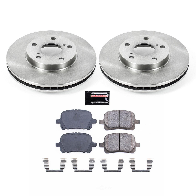 POWER STOP - Stock Replacement Brake Kit - PWS KOE1058