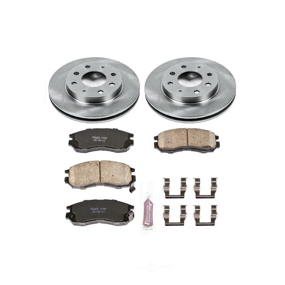 POWER STOP - Stock Replacement Brake Kit - PWS KOE1090