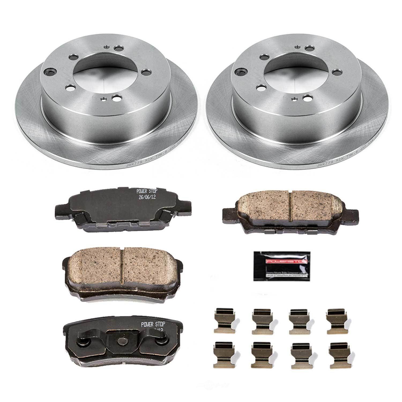 POWER STOP - Stock Replacement Brake Kit - PWS KOE1202