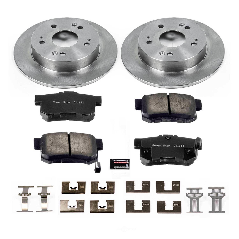 POWER STOP - Stock Replacement Brake Kit - PWS KOE1243