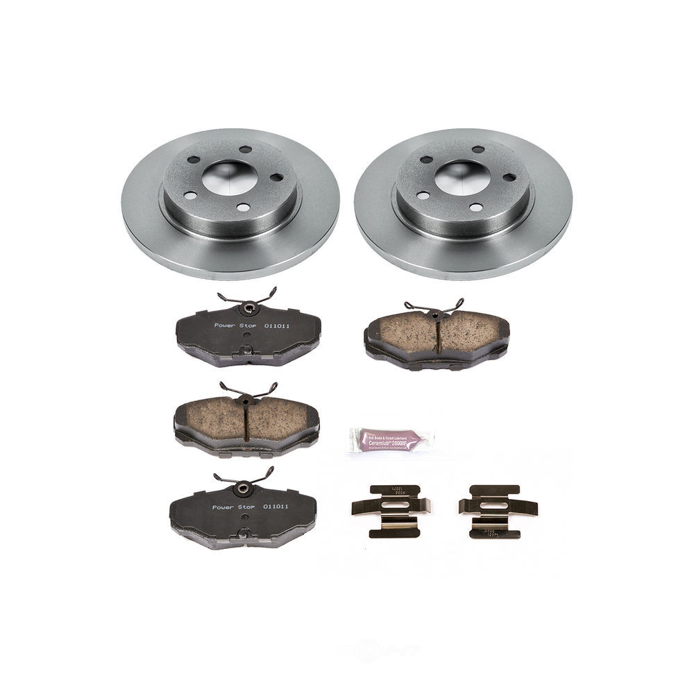 POWER STOP - Stock Replacement Brake Kit - PWS KOE1298