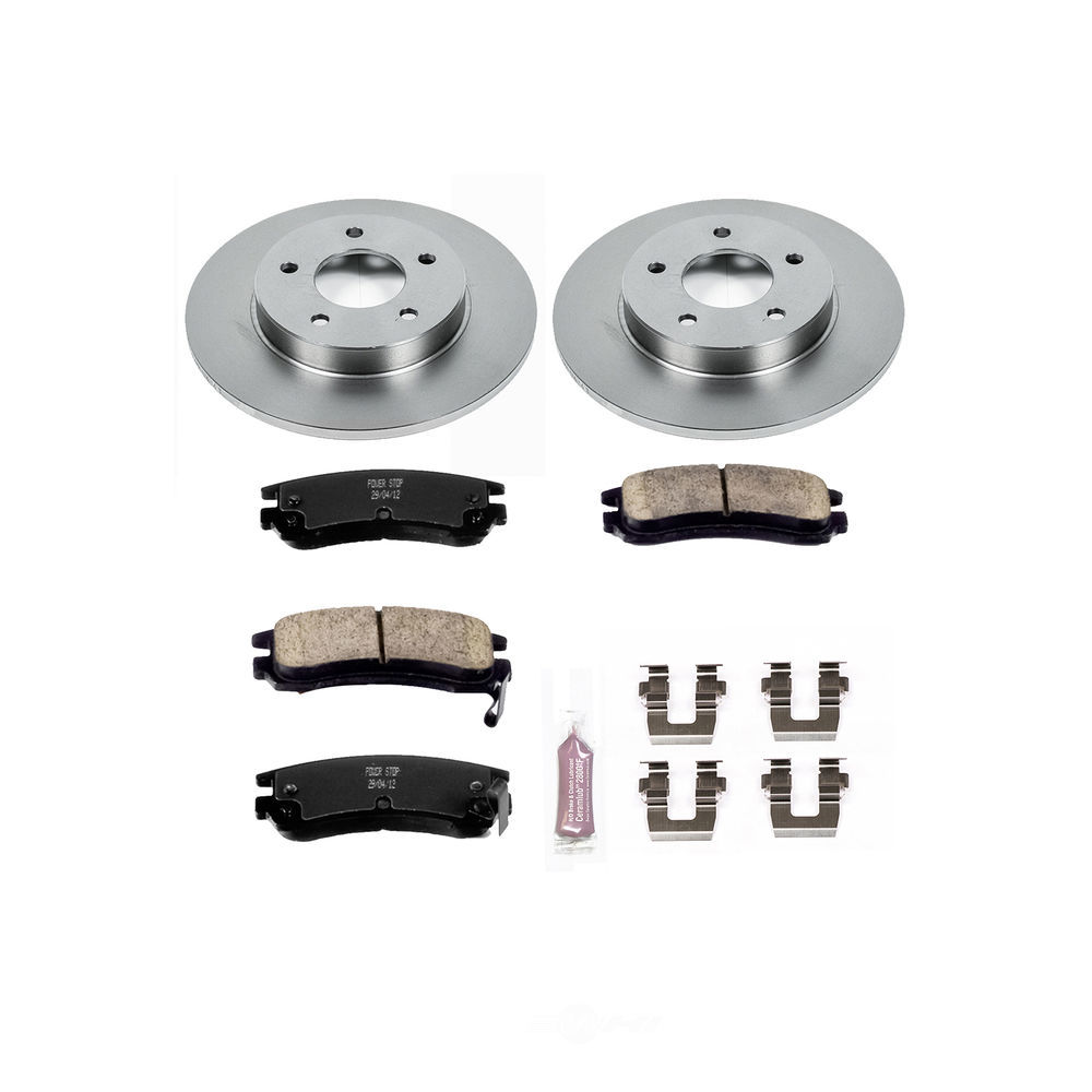 POWER STOP - Stock Replacement Brake Kit - PWS KOE1526
