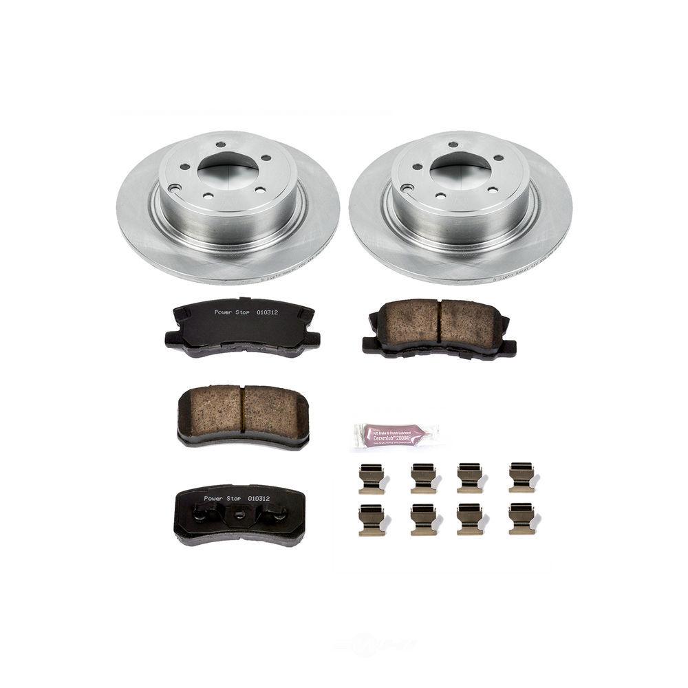 POWER STOP - Stock Replacement Brake Kit - PWS KOE1630