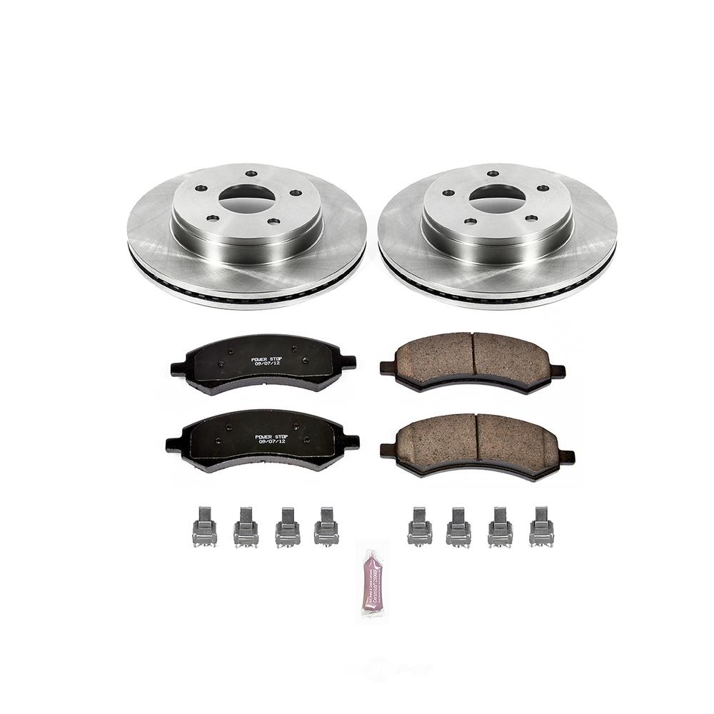 POWER STOP - Stock Replacement Brake Kit - PWS KOE2163