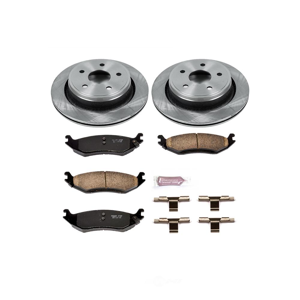 POWER STOP - Stock Replacement Brake Kit - PWS KOE2172