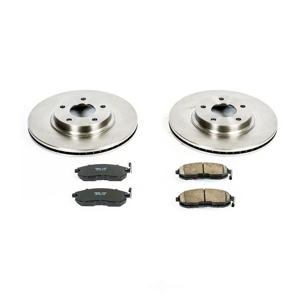 POWER STOP - Stock Replacement Brake Kit - PWS KOE2282