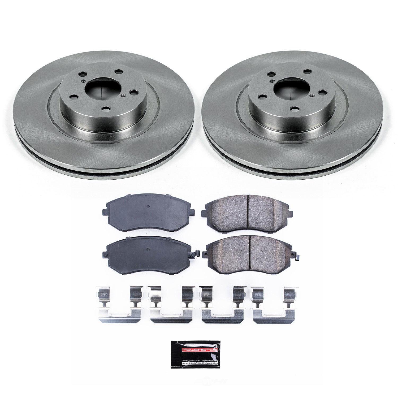 POWER STOP - Stock Replacement Brake Kit - PWS KOE3038