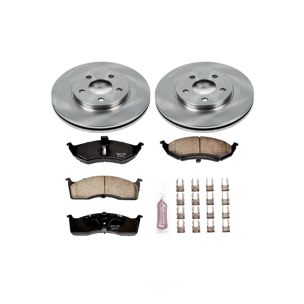 POWER STOP - Stock Replacement Brake Kit - PWS KOE3143
