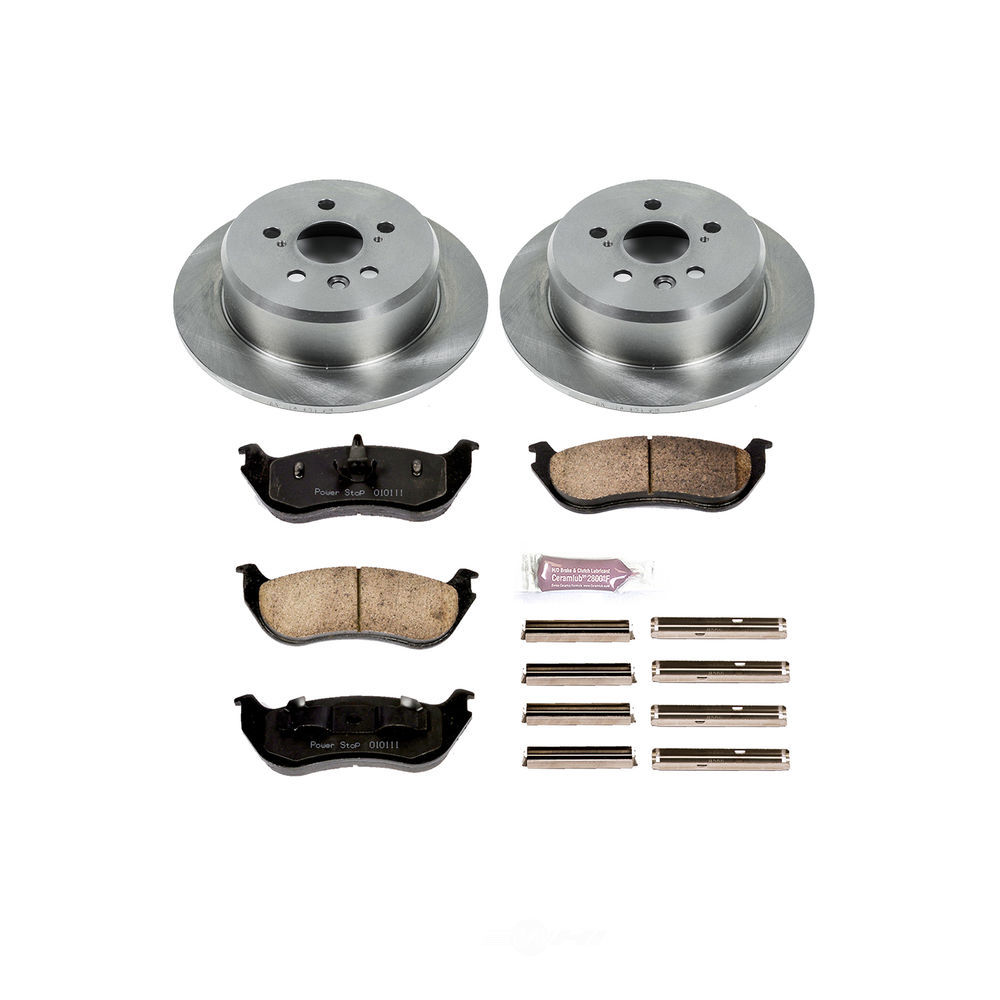 POWER STOP - Stock Replacement Brake Kit - PWS KOE3150