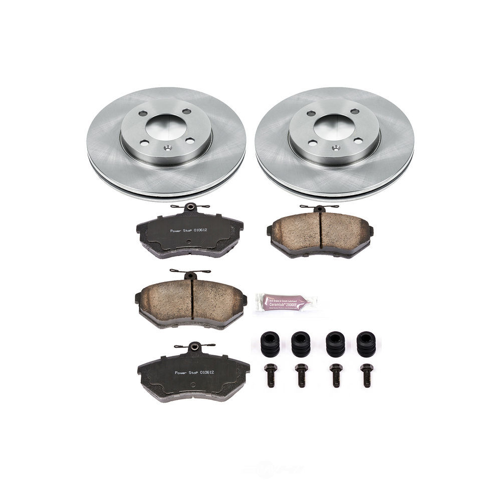POWER STOP - Stock Replacement Brake Kit - PWS KOE374
