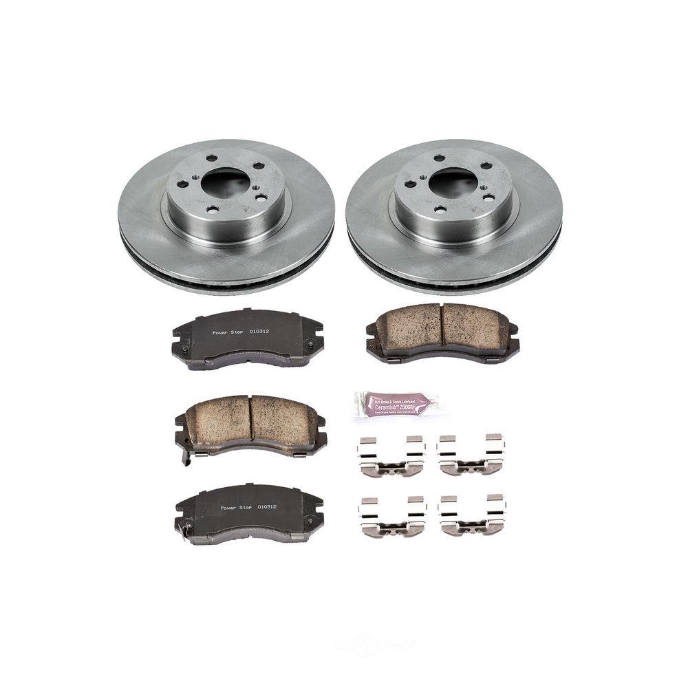 POWER STOP - Stock Replacement Brake Kit - PWS KOE443