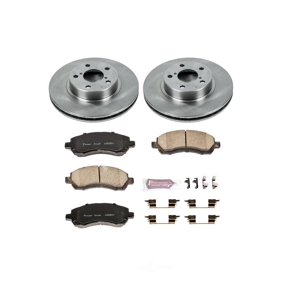 POWER STOP - Stock Replacement Brake Kit - PWS KOE445