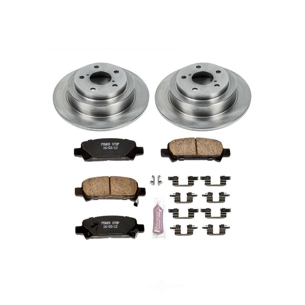 POWER STOP - Stock Replacement Brake Kit - PWS KOE449