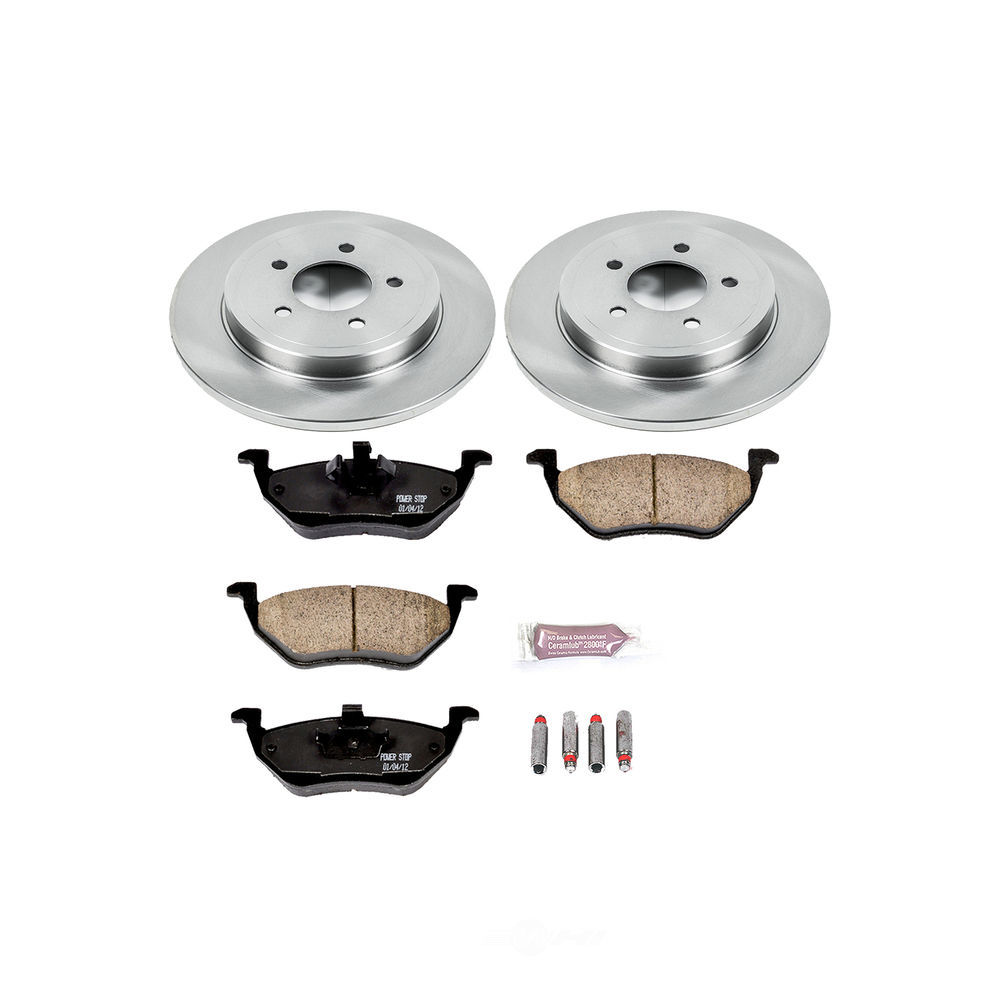 POWER STOP - Stock Replacement Brake Kit - PWS KOE4585