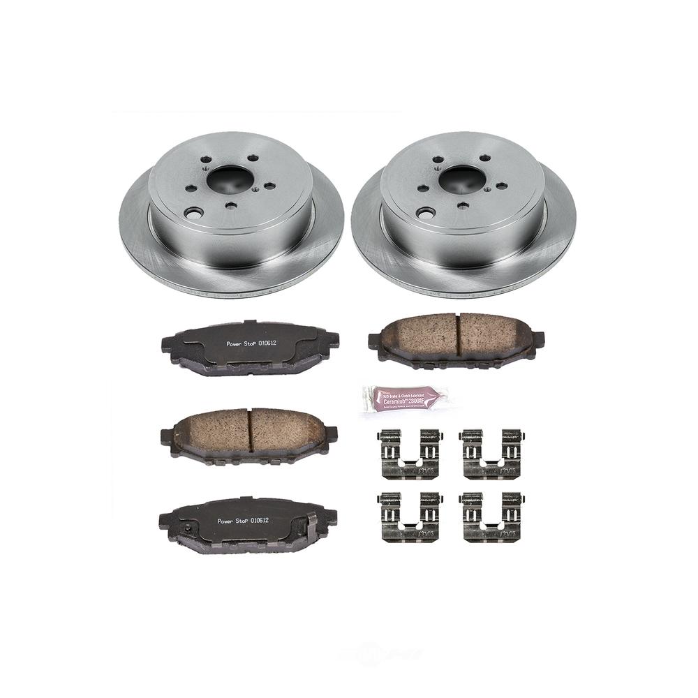POWER STOP - Stock Replacement Brake Kit - PWS KOE4631
