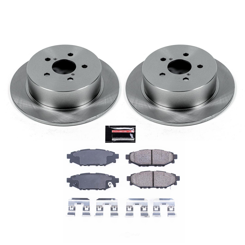 POWER STOP - Stock Replacement Brake Kit - PWS KOE4632