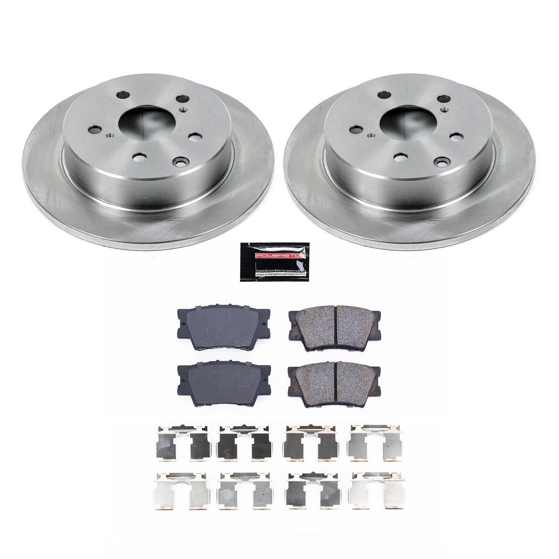 POWER STOP - Stock Replacement Brake Kit - PWS KOE4671