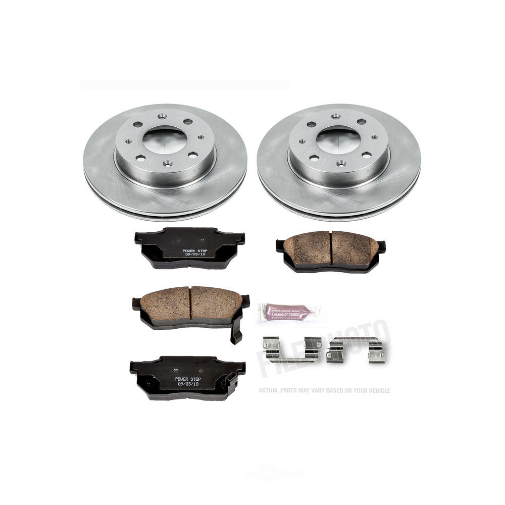 POWER STOP - Stock Replacement Brake Kit - PWS KOE4795
