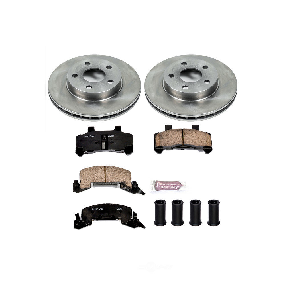 POWER STOP - Stock Replacement Brake Kit - PWS KOE4808