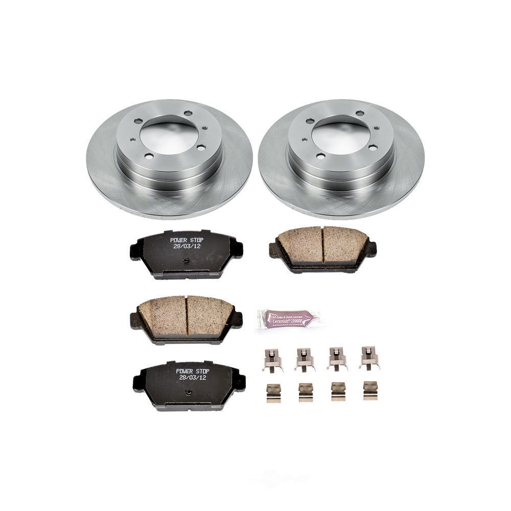 POWER STOP - Stock Replacement Brake Kit - PWS KOE4830