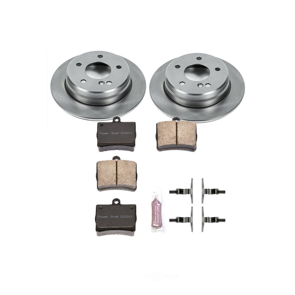 POWER STOP - Autospecialty By Power Stop 1-Click Daily Driver Brake Kits (Rear) - PWS KOE5167