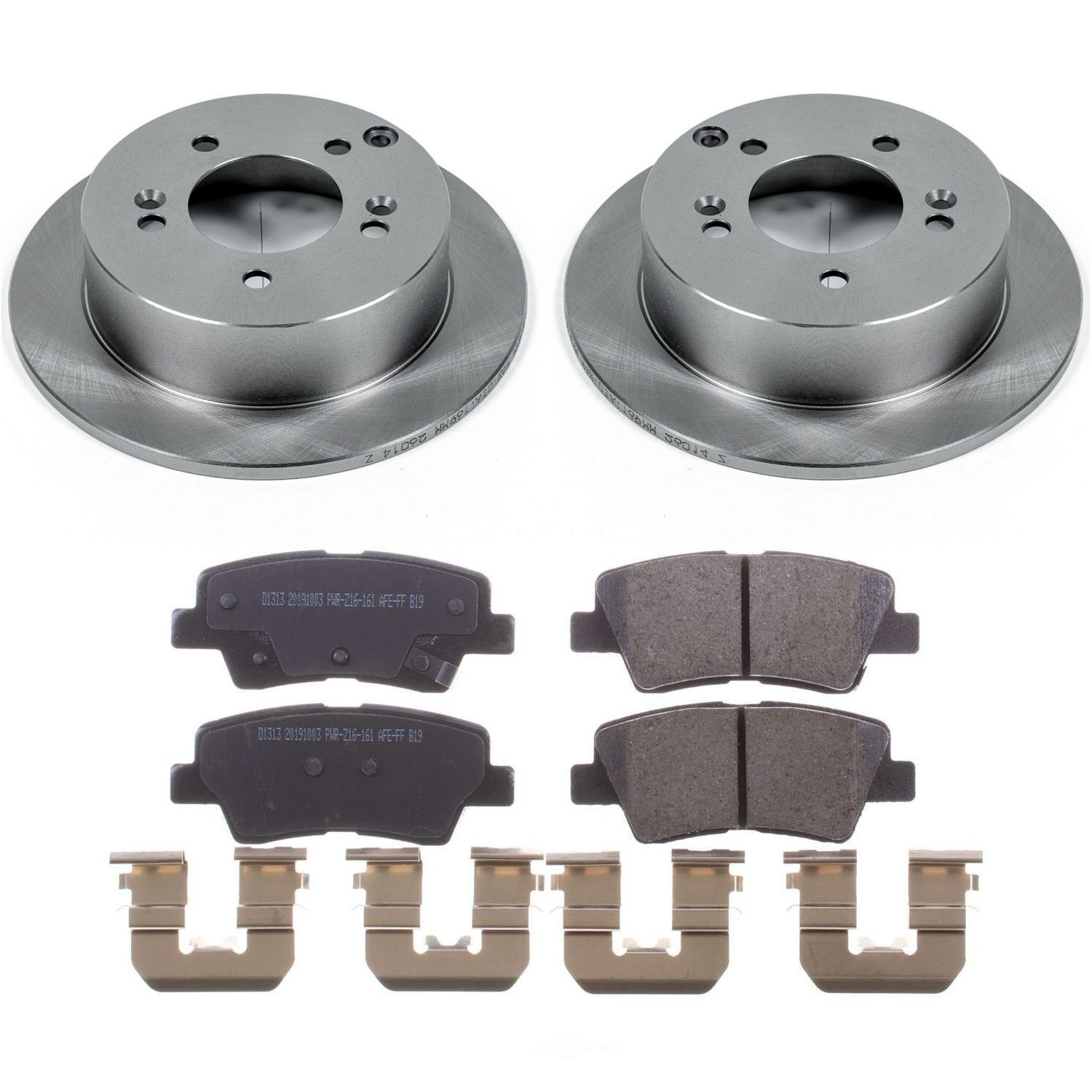 POWER STOP - Stock Replacement Brake Kit - PWS KOE5395