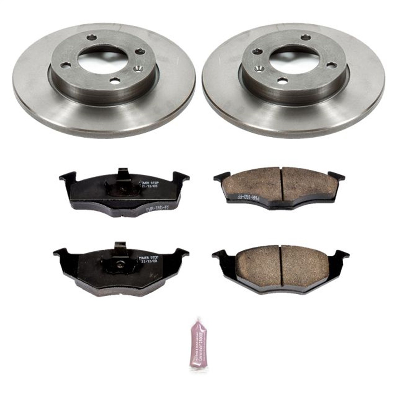 POWER STOP - Autospecialty By Power Stop 1-Click Daily Driver Brake Kits (Front) - PWS KOE5417