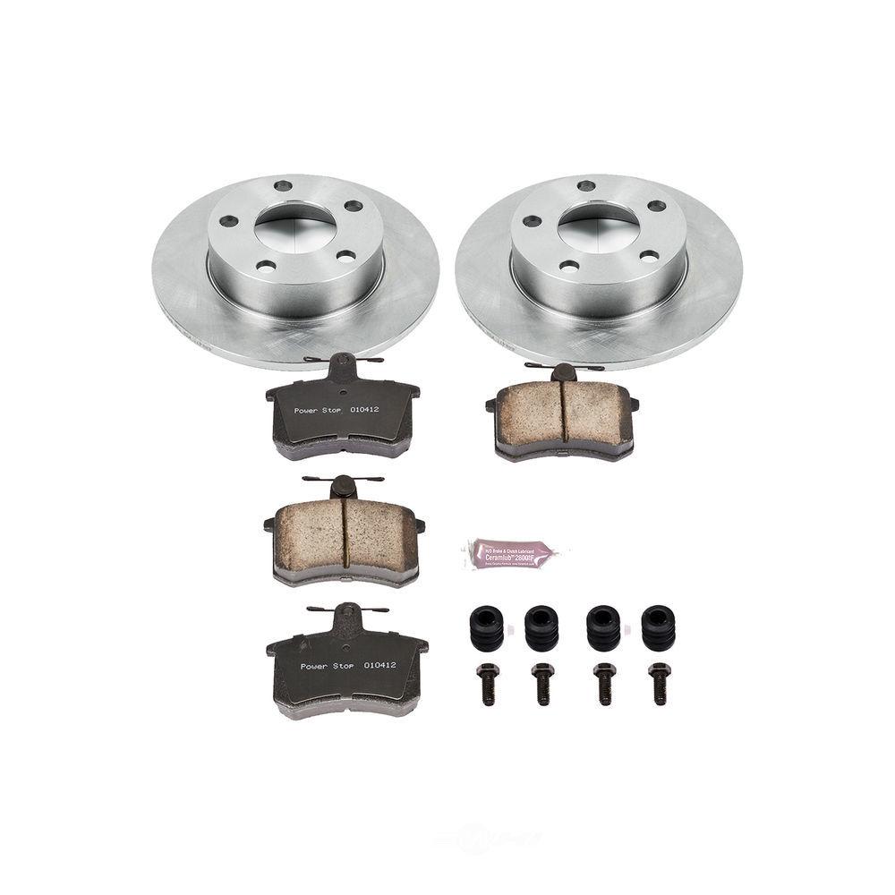 POWER STOP - Stock Replacement Brake Kit - PWS KOE584
