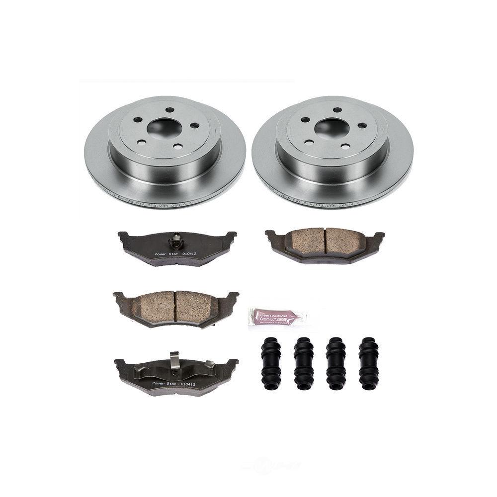 POWER STOP - Stock Replacement Brake Kit - PWS KOE6266